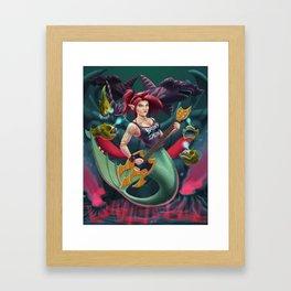 Depth Metal Framed Art Print