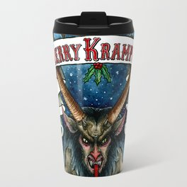 Merry Krampus Travel Mug