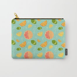 Les Agrumes (Citrus) Pattern Carry-All Pouch