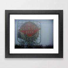 Grain Belt Framed Art Print