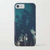 palms iPhone & iPod Cases featuring Palms by CloudedSunset