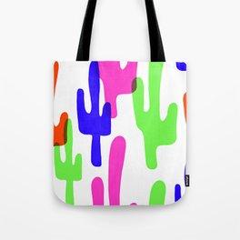 Colorful Cacti Tote Bag