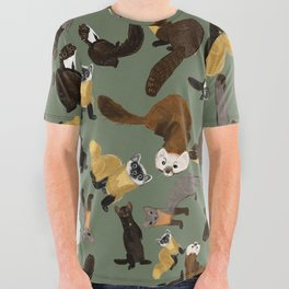 Martens of the World #1 All Over Graphic Tee