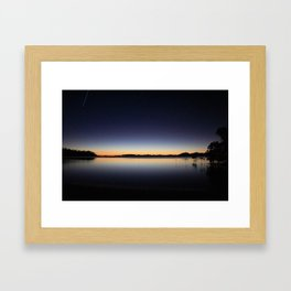 Travel Well Framed Art Print