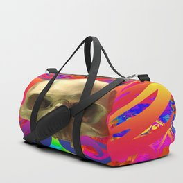 Skull Butterfly Duffle Bag