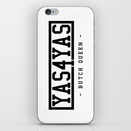 BQ - Yas4Yas iPhone Skin
