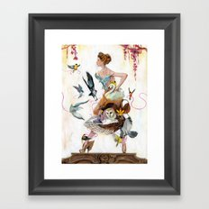 Lady of Spring Framed Art Print