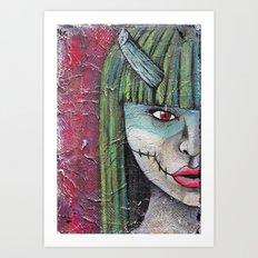 Oni 2 Art Print