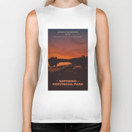 Nopiming Provincial Park Poster Biker Tank