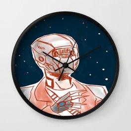 Beyond space mercenary Wall Clock