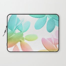 Rainbow Cacti Vibes #1 #pattern #decor #art #society6 Laptop Sleeve