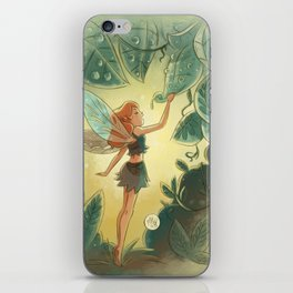 Goblins Drool, Fairies Rule! - Morning Dew iPhone Skin