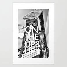 Ladder Progression Art Print
