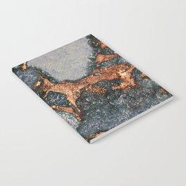 GREY & GOLD GEMSTONE Notebook
