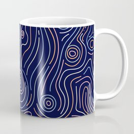 BP 40 Wood Grain Coffee Mug