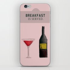 Drink With Me iPhone & iPod Skin