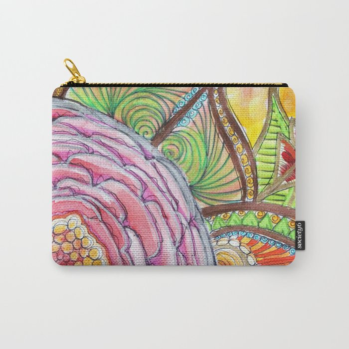 Rose ancestrale Carry-All Pouch