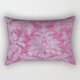 Vintage old damask textile Rectangular Pillow