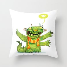 Huggs Throw Pillow