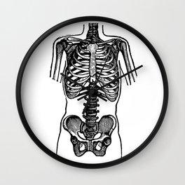 Bones. Wall Clock