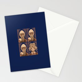 Ood One Out - Dalek Stationery Cards