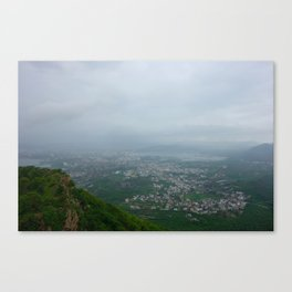 Monsoon Palace View Canvas Print