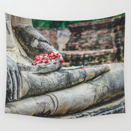 Phuang Malai for the Buddha Wall Tapestry