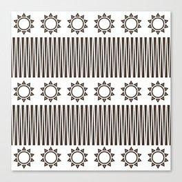 Illusion and Circles Canvas Print