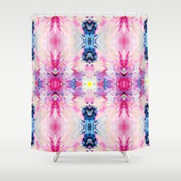 Heydey (Abstract Painting) Shower Curtain