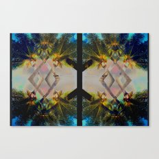 Overlapping Palms Canvas Print