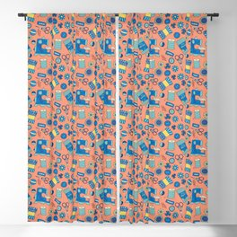 Bits and Bobs Blackout Curtain