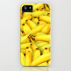 Yellow Bananas pattern Slim Case iPhone (5, 5s)
