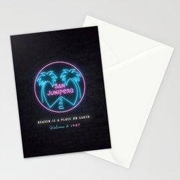 San Junipero Stationery Cards