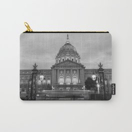 San Francisco City Hall BW Carry-All Pouch