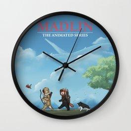 Madlin: The Animated Series Wall Clock
