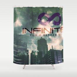 Infinitek Seattle Shower Curtain