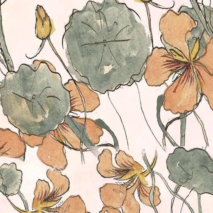Winding flowers Leggings