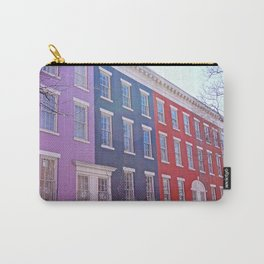 Colourful Streets Greenwich Village, NYC Carry-All Pouch