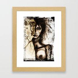 Loona Framed Art Print