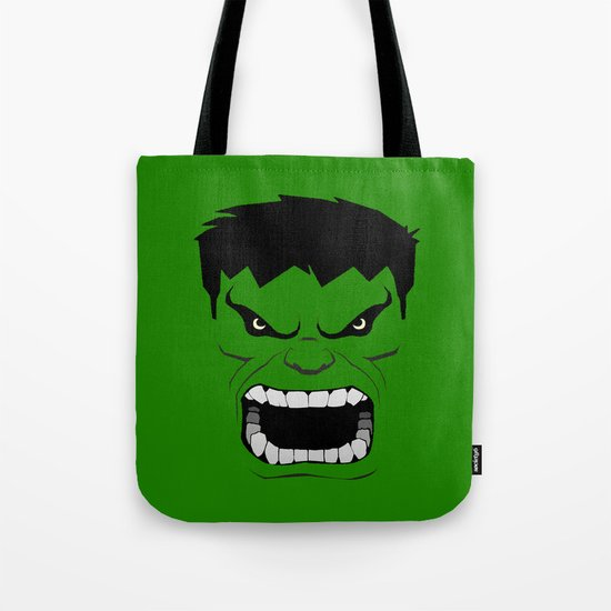 Minimalist Hulk Tote Bag