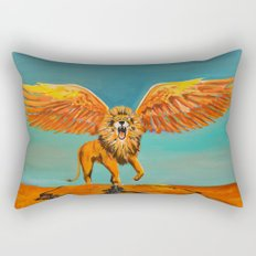 The Conquering Lion Rectangular Pillow