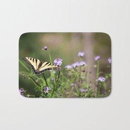 Flutter by, butterfly. Bath Mat