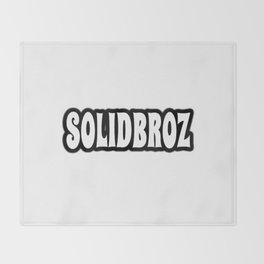 Solidbroz (Logo) Throw Blanket