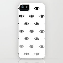 Evil Eye Ombre iPhone Case