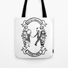 UNREALISTIC LOVE Tote Bag