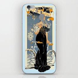 Keep on balance iPhone Skin