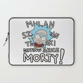 Mulan Szechuan teriyaki dipping sauce, Morty! Laptop Sleeve