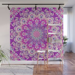Flower Of Life Mandala (Innocence) Wall Mural