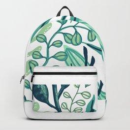UniCorn Leaves Pattern Backpack
