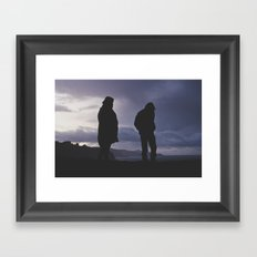 Calm  Before Storm Framed Art Print
